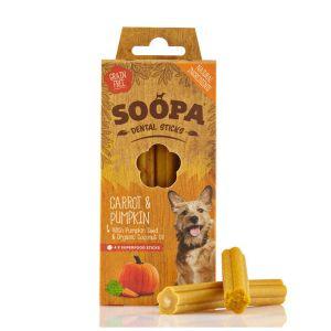 Soopa Puppy Banana & Pumpkin Sticks