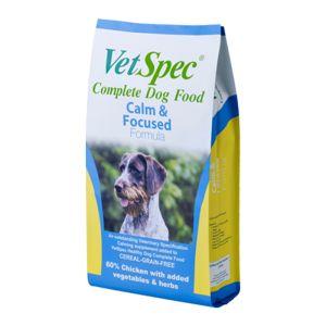 VetSpec Calm & Focused Complete Dog Food